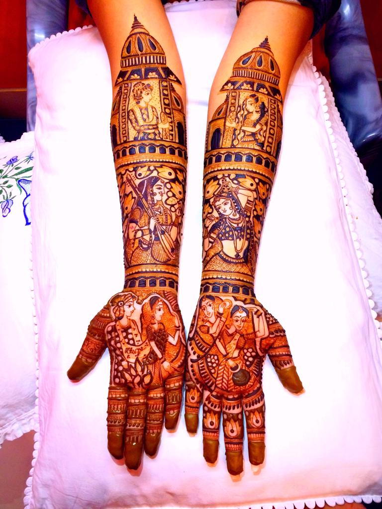 bridal mehndi in Agra