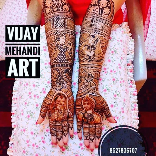 Famous Best Gujrati Mehandi artist Central Delhi